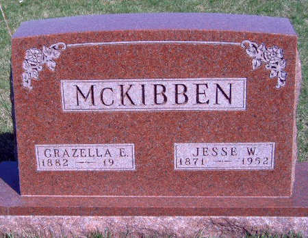 MCKIBBEN, JESSE W. - Madison County, Iowa | JESSE W. MCKIBBEN