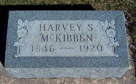 MCKIBBEN, HARVEY STUART - Madison County, Iowa   HARVEY STUART MCKIBBEN