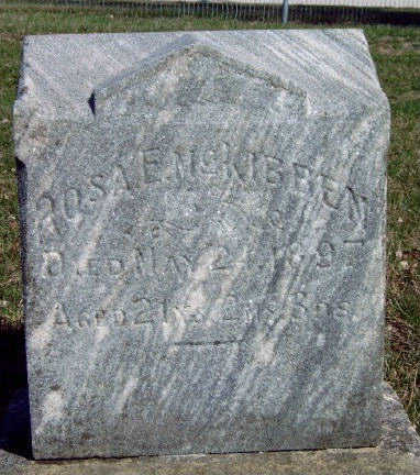 MCKIBBEN, ROSA E. - Madison County, Iowa | ROSA E. MCKIBBEN