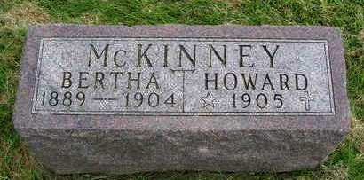 MCKINNEY, BERTHA - Madison County, Iowa | BERTHA MCKINNEY