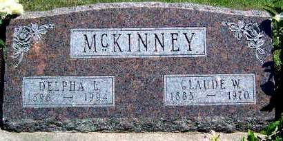 MCKINNEY, DELPHA LELA - Madison County, Iowa | DELPHA LELA MCKINNEY