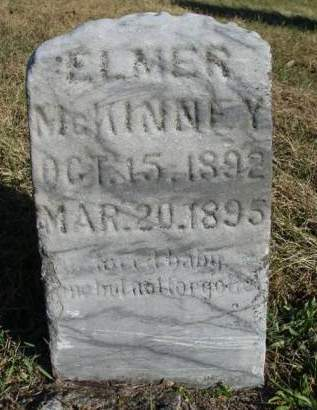 MCKINNEY, ELMER - Madison County, Iowa | ELMER MCKINNEY