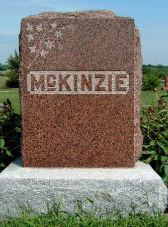 MCKINZIE, FAMILY STONE - Madison County, Iowa | FAMILY STONE MCKINZIE
