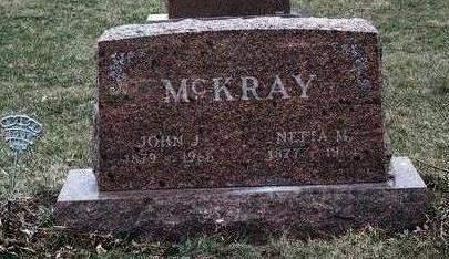MCKRAY, JOHN J. - Madison County, Iowa | JOHN J. MCKRAY
