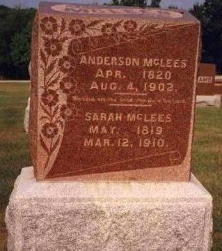 MCLEES, SARAH J. - Madison County, Iowa | SARAH J. MCLEES
