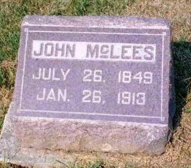 MCLEES, JOHN - Madison County, Iowa | JOHN MCLEES