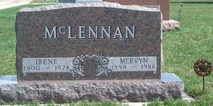 MCLENNAN, MERVYN D. - Madison County, Iowa | MERVYN D. MCLENNAN
