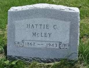 MCLEY, HARRIET COATS (HATTIE) - Madison County, Iowa | HARRIET COATS (HATTIE) MCLEY