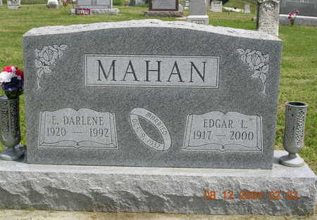 MAHAN, EVELYN DARLENE - Madison County, Iowa   EVELYN DARLENE MAHAN