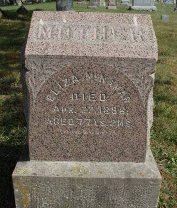 MCNAMAR, ELIZA JANE - Madison County, Iowa | ELIZA JANE MCNAMAR