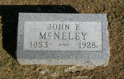 MCNELEY, JOHN FARLEIGH - Madison County, Iowa | JOHN FARLEIGH MCNELEY