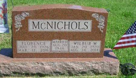 MCNICHOLS, WILBUR WILLIAM - Madison County, Iowa | WILBUR WILLIAM MCNICHOLS