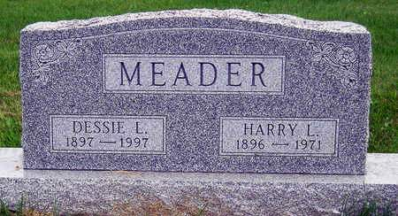 MEADER, DESSIE LEO - Madison County, Iowa | DESSIE LEO MEADER
