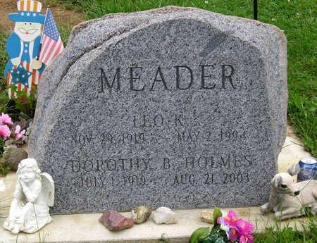 HOLMES MEADER, DOROTHY BELLE - Madison County, Iowa | DOROTHY BELLE HOLMES MEADER