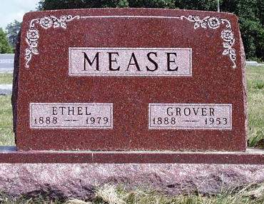 MEASE, NORA ETHEL - Madison County, Iowa | NORA ETHEL MEASE