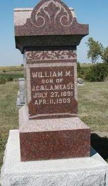 MEASE, WILLIAM MARTIN - Madison County, Iowa | WILLIAM MARTIN MEASE