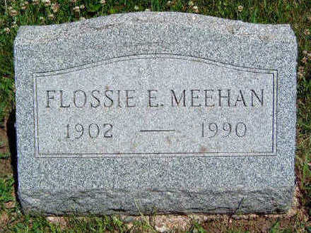 MEEHAN, FLOSSIE ESTELLA - Madison County, Iowa | FLOSSIE ESTELLA MEEHAN