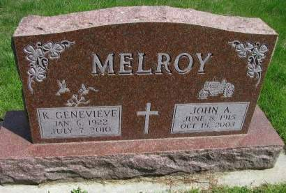 MELROY, JOHN A. - Madison County, Iowa | JOHN A. MELROY