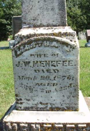 CLINE MENEFFE, MARTHA JANE - Madison County, Iowa | MARTHA JANE CLINE MENEFFE