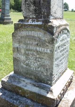 MENEFEE, WILLIE C. - Madison County, Iowa | WILLIE C. MENEFEE