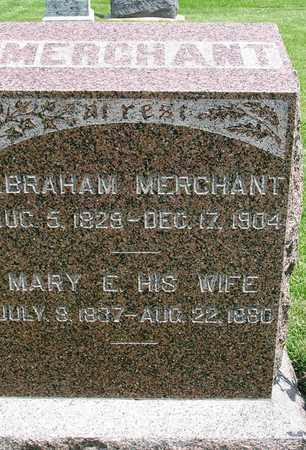 THATCHER MERCHANT, MARY E. - Madison County, Iowa | MARY E. THATCHER MERCHANT
