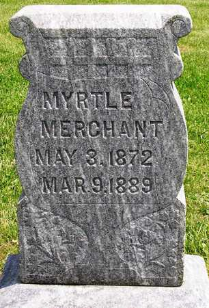 MERCHANT, MYRTLE - Madison County, Iowa | MYRTLE MERCHANT