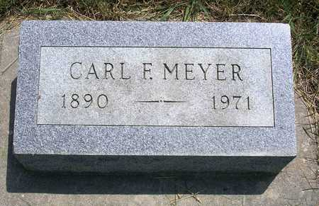 MEYER, CARL FERDINAND - Madison County, Iowa | CARL FERDINAND MEYER