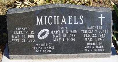 MICHAELS, MARY E. - Madison County, Iowa | MARY E. MICHAELS