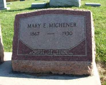 MICHENER, MARY ELLEN - Madison County, Iowa | MARY ELLEN MICHENER