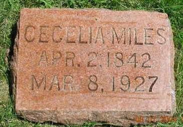 SMITH MILES, CECELIA - Madison County, Iowa   CECELIA SMITH MILES