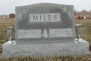 MILES, MILO MYRON - Madison County, Iowa | MILO MYRON MILES