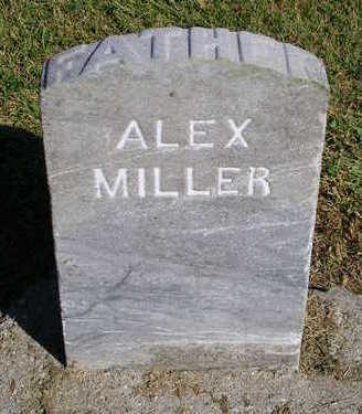 MILLER, ALEX - Madison County, Iowa | ALEX MILLER