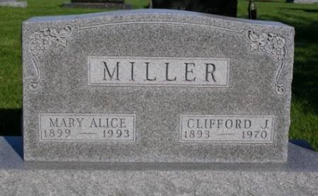 MILLER, CLIFFORD J. - Madison County, Iowa | CLIFFORD J. MILLER