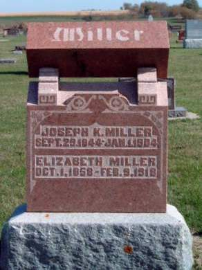 MILLER, JOSEPH K. - Madison County, Iowa | JOSEPH K. MILLER