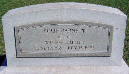 MILLER, FLORA LILLIS 'FOLIE' - Madison County, Iowa | FLORA LILLIS 'FOLIE' MILLER