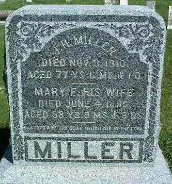 MILLARD MILLER, MARY ELIZABETH - Madison County, Iowa | MARY ELIZABETH MILLARD MILLER