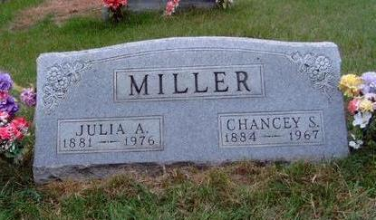 MILLER, CHANCEY STANLEY - Madison County, Iowa | CHANCEY STANLEY MILLER
