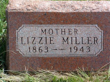 MILLER, LESSETTE B. (LIZZIE) - Madison County, Iowa | LESSETTE B. (LIZZIE) MILLER