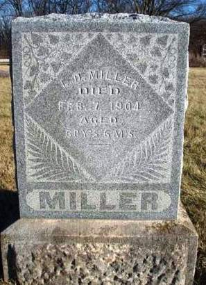 MILLER, LEANDER D. (LEE) - Madison County, Iowa | LEANDER D. (LEE) MILLER