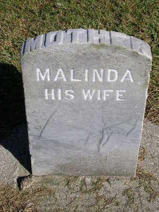 MILLER, MALINDA - Madison County, Iowa | MALINDA MILLER