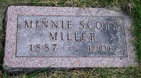 SCOTT MILLER, MINNIE VICTORIA - Madison County, Iowa | MINNIE VICTORIA SCOTT MILLER