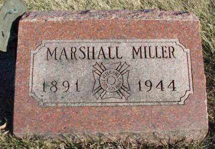 MILLER, MARSHALL H. - Madison County, Iowa | MARSHALL H. MILLER