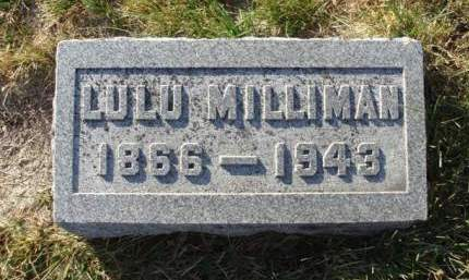 MILLIMAN, LULU M. - Madison County, Iowa | LULU M. MILLIMAN