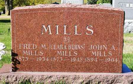 BURNS MILLS, CLARA S. - Madison County, Iowa | CLARA S. BURNS MILLS