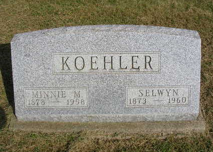 MILLS KOEHLER, MINNIE M. - Madison County, Iowa | MINNIE M. MILLS KOEHLER