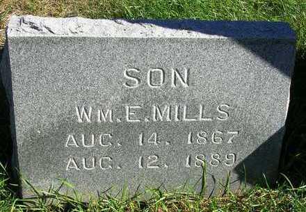 MILLS, WILLIAM E. - Madison County, Iowa | WILLIAM E. MILLS