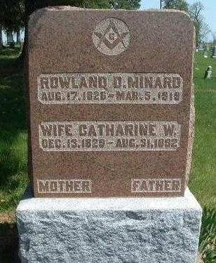 MINARD, CATHERINE W. - Madison County, Iowa | CATHERINE W. MINARD