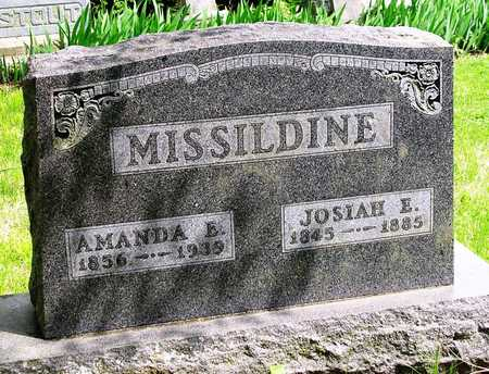 MISSILDINE, AMANDA EUPHRATES - Madison County, Iowa | AMANDA EUPHRATES MISSILDINE