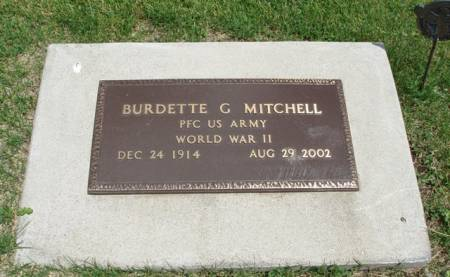 MITCHELL, BURDETTE G. - Madison County, Iowa | BURDETTE G. MITCHELL