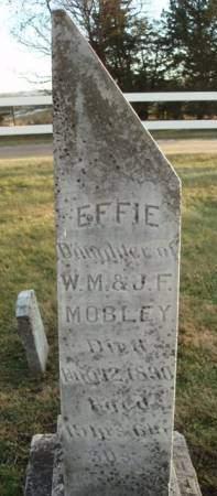 MOBLEY, EFFIE - Madison County, Iowa | EFFIE MOBLEY